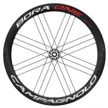 CAMPAGNOLO BORA ONE 50 BOLT THRU DISC BRAKE WHEELS - TUBULARS